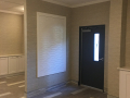 Apartment Lobby Makeover In Sea Isle entry door after 2