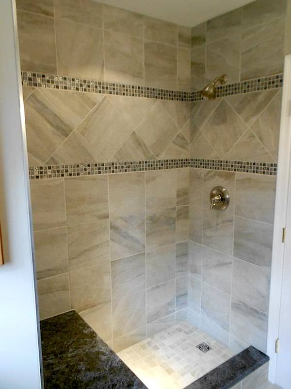 Bathroom remodeling by JR Carpentry and Tile.