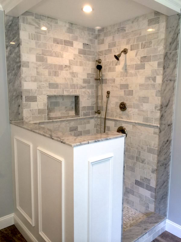 JR Carpentry & Tile renovated this Collegeville bathroom.