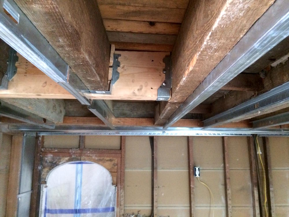 Home Remodeling Cost - Sistering Joists