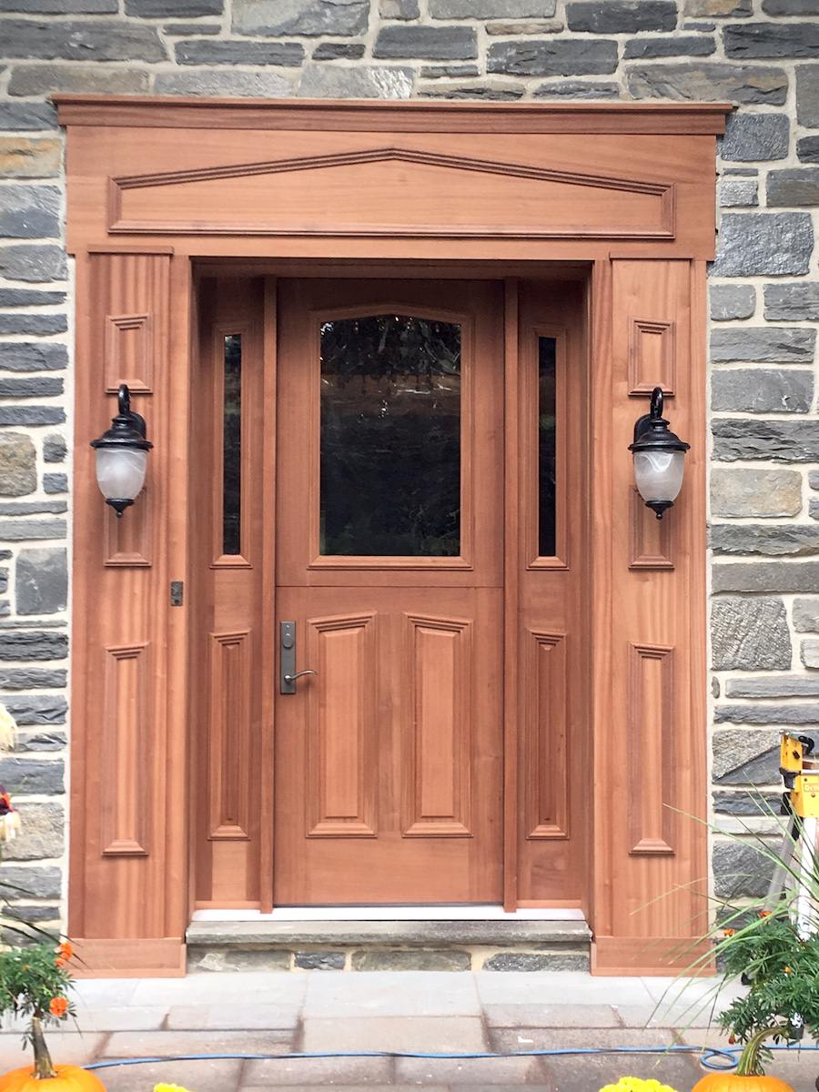 Havertown Front Door Replacement | JR Carpentry & Tile