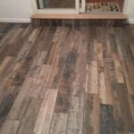 Pottstown Sunroom Faux Tile Floor