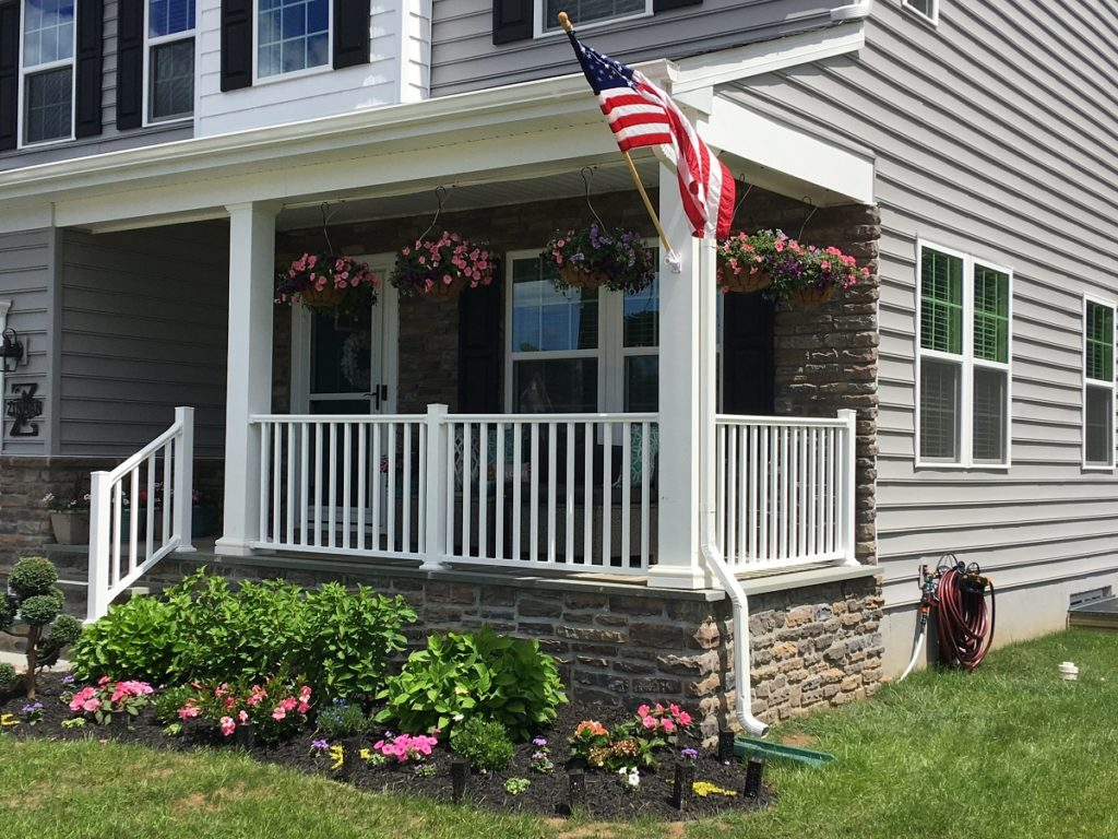 Warminster railing installation